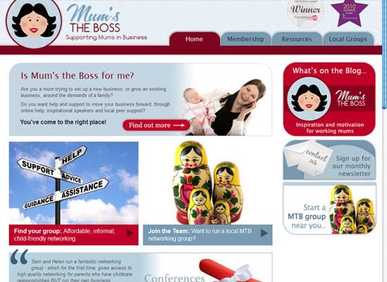 New Bespoke Developed CMS Website: Mums the Boss