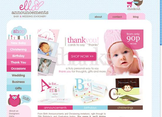 Tots Corner: Ecommerce website redesign