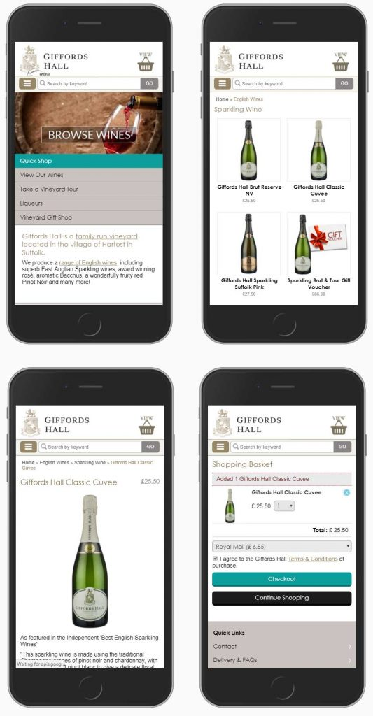 Mobile Ecommerce design