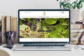 Vineyard Ecommerce website design