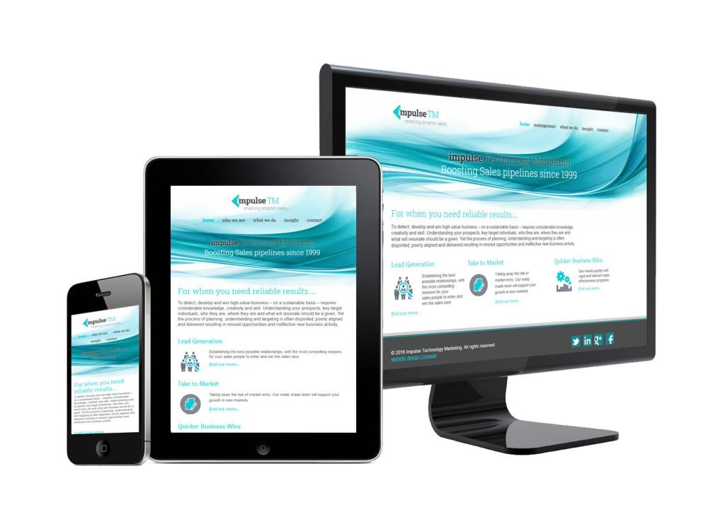 WordPress Website Design Cornwall - Impulse TM