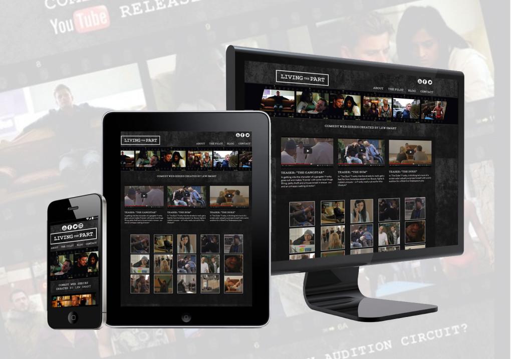 Responsive WordPress Website Design - Living the Part