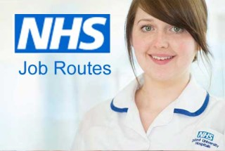 NHS Job Routes Website Design Coventry