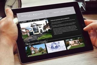 WordPress website design - Shelley Mafille