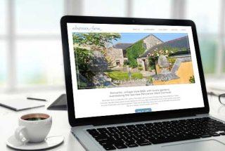 B&B Website Design Penzance - Ednovean Farm